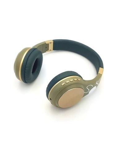 Bludfire Bluetooth Kulaküstü Kulaklık Kablosuz Sd Kart Girişi Aux Yeşil Sy-Bt1607 Yeşil